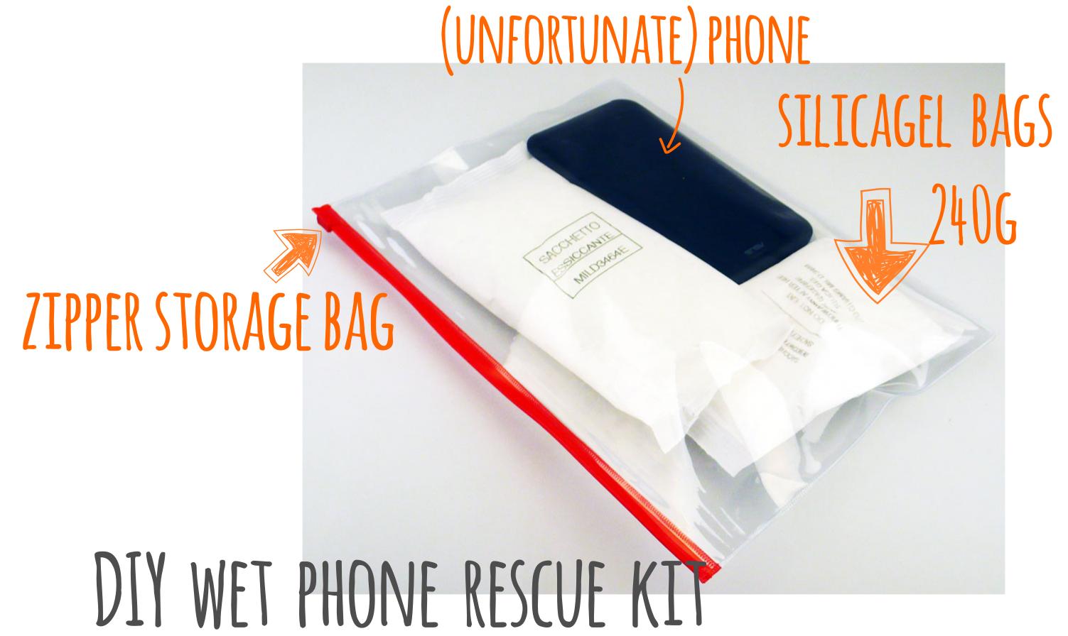 kit rescue wet phone DIY
