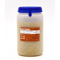Indicating brown silica gel - 1000 gr sealed can