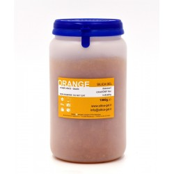 Orange silica gel in sfere - flacone 1000 g