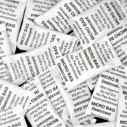 Micro Bags silica gel 2 g Tyvek