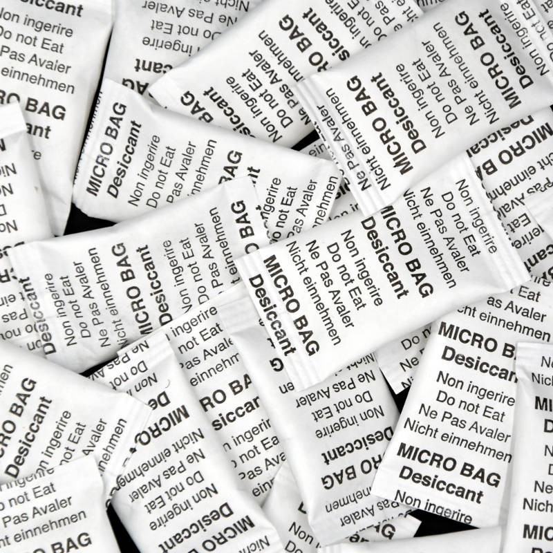 Micro-bag silica gel 2 g.
