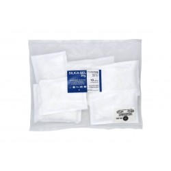 Bustine silica gel in Tyvek 30 g. - confezione in PEAD