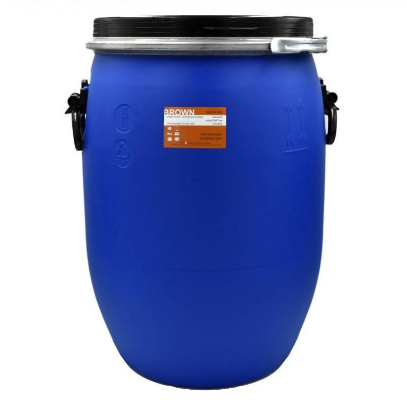 Brown indicating silica gel - bulk - drum 30 Kg
