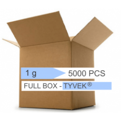 bustine disidratanti tyvek 1 g, confezione da 5000 pezzi