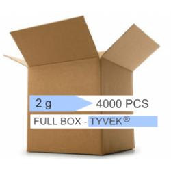 Confezione 4000 pezzi - Micro Bags silica gel 2 g -