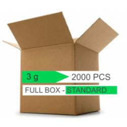 Bustine 3 g. silica gel STANDARD - Confezione 2000 pezzi