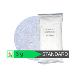Bustina 3 g silica gel STANDARD