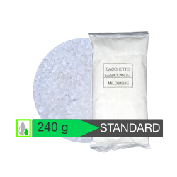 Sacchetto 240 g. silica gel STANDARD