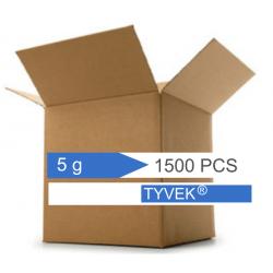 Confezione da 1500 bustine di silica gel 5 g. in Tyvek