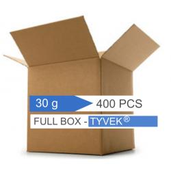 Confezione da 400 bustine silica gel in Tyvek 30 g.